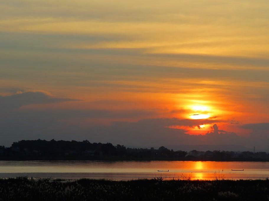 Sonnenuntergang-Vientiane-1