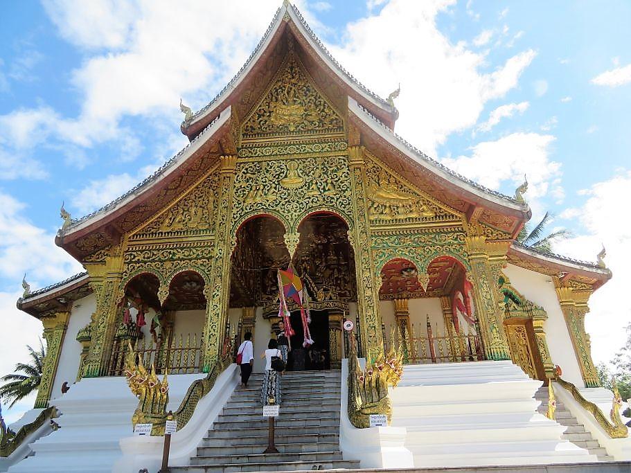 Tempel-im-Königspalat-Luang-Prabang