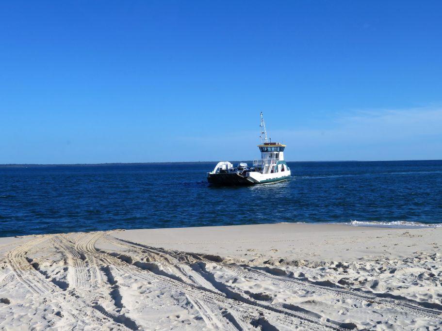 Ferry nach Frazer Island