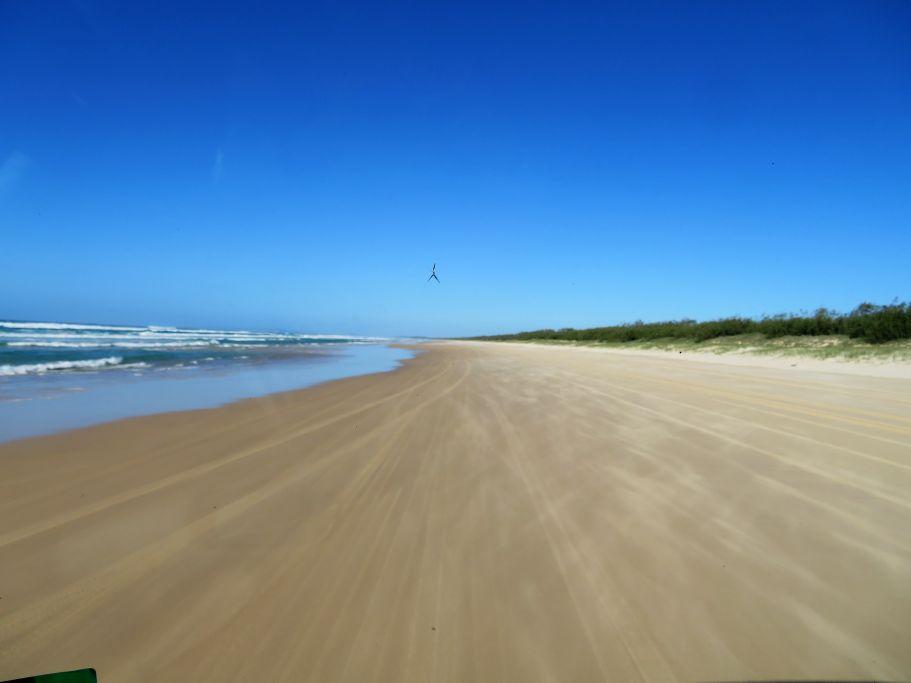 Jeepfahrt am Strand