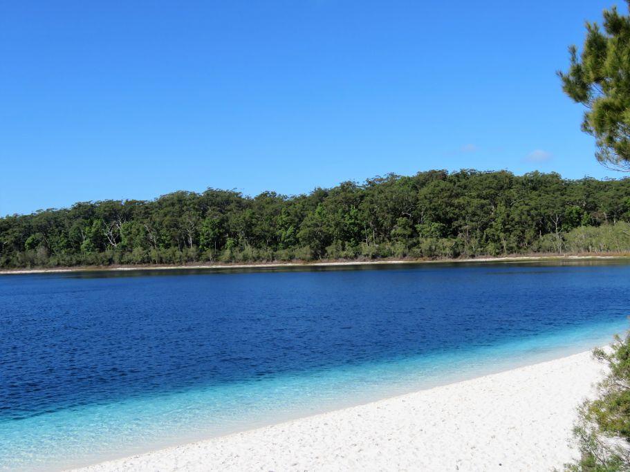 Mc Kenzie Lake auf Frazer Island