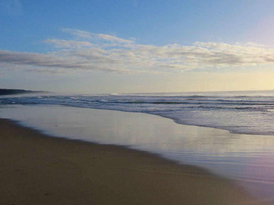 Noosa Beach am Morgen 1