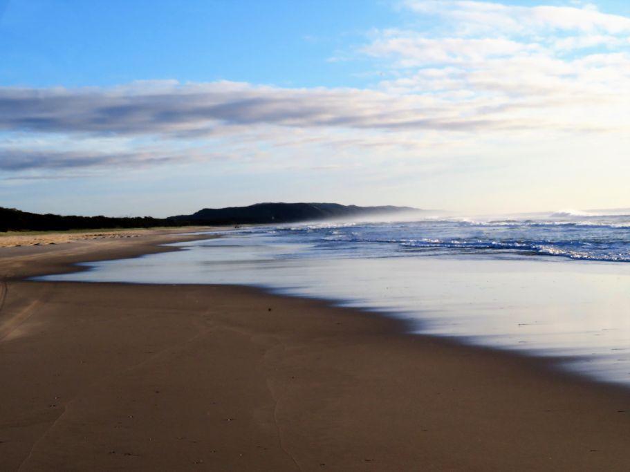 Noosa Beach am Morgen 2