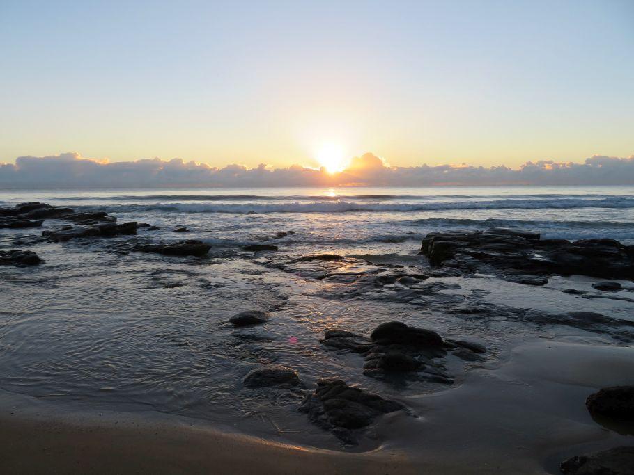 Sonnenaufgang in Mooloolaba 2