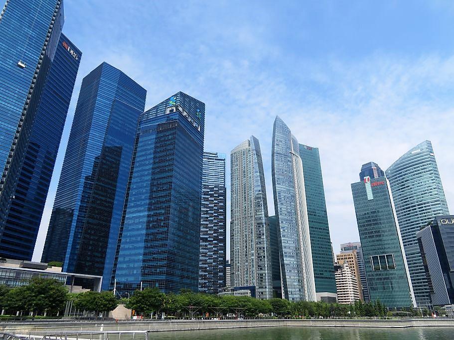 Downtown Singapore 1