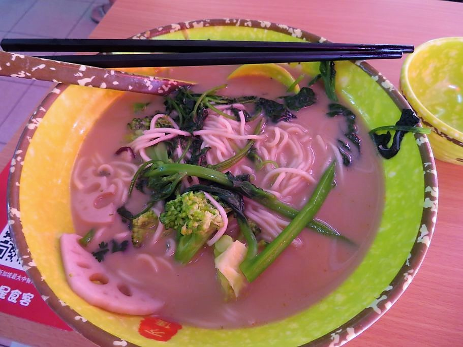 Essen in Chinatown nachher
