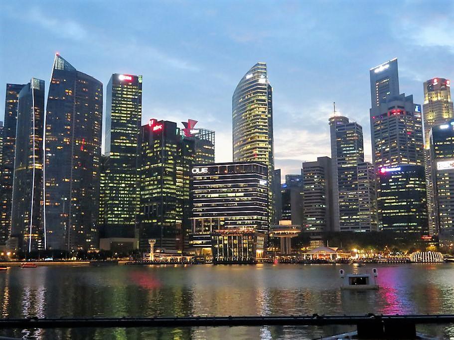 Singapore skyline 5