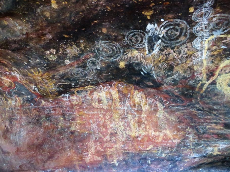 Höhlenzeichnungen Uluru