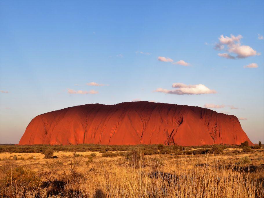 Schatten auf Uluru 1