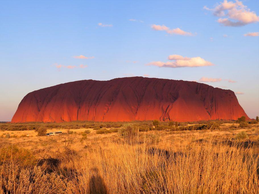 Schatten auf Uluru 2