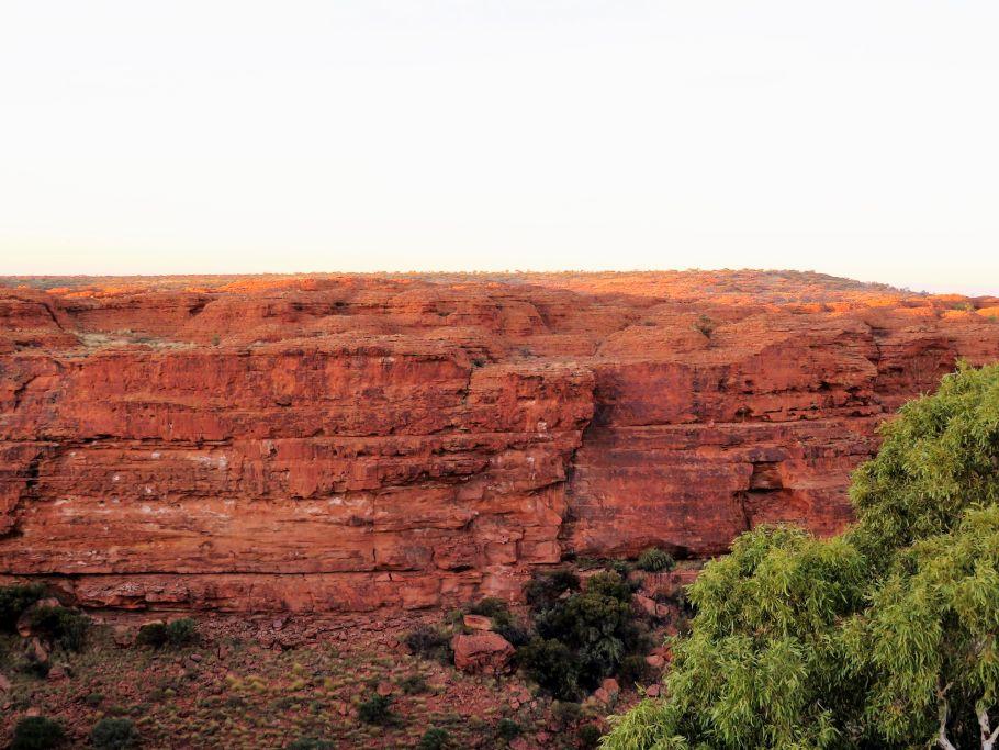 Sonne auf King's Canyon 1