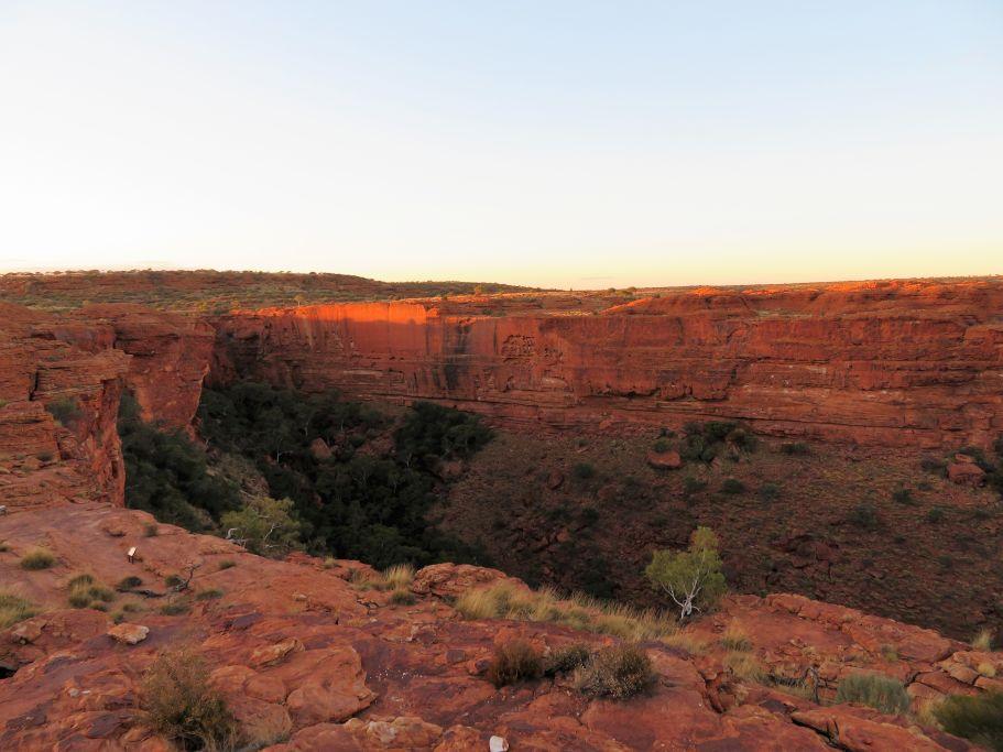 Sonne auf King's Canyon 2