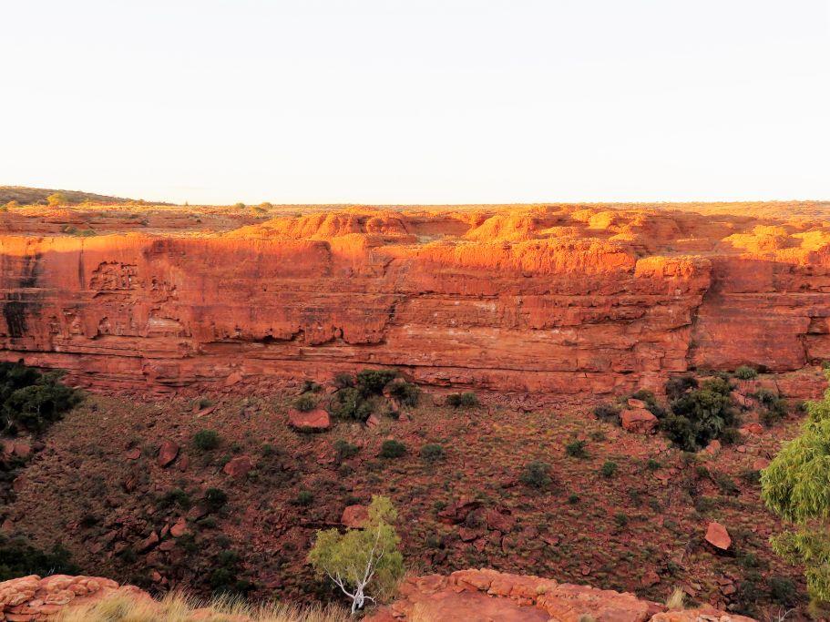 Sonne auf King's Canyon 3