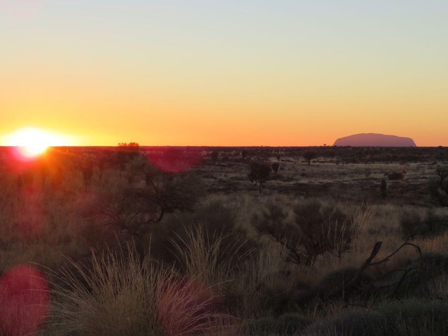 Sonnenaufgang Uluru 3