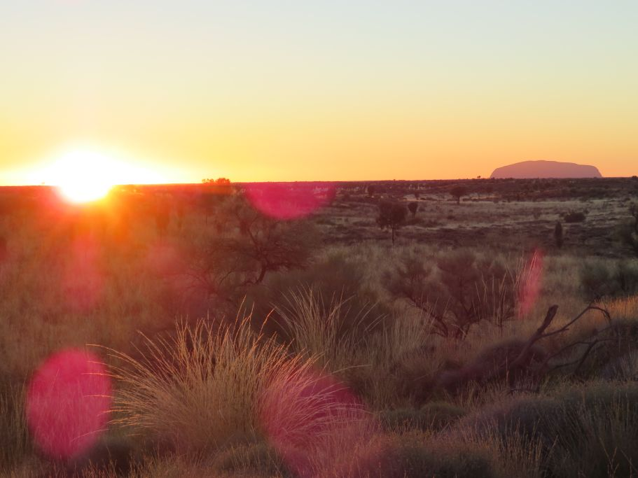 Sonnenaufgang Uluru 4