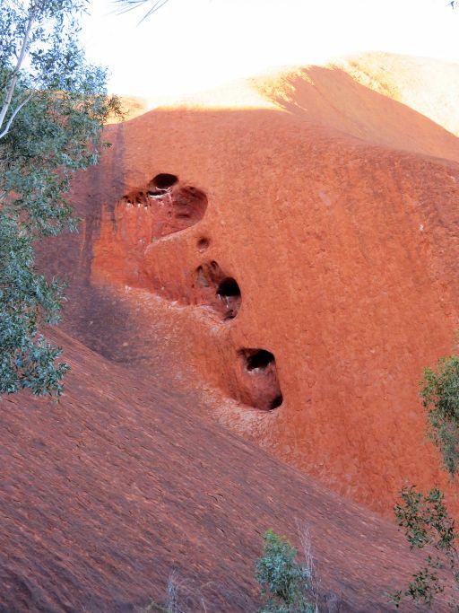 Teilansicht Uluru 2
