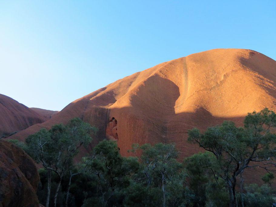 Teilansicht Uluru