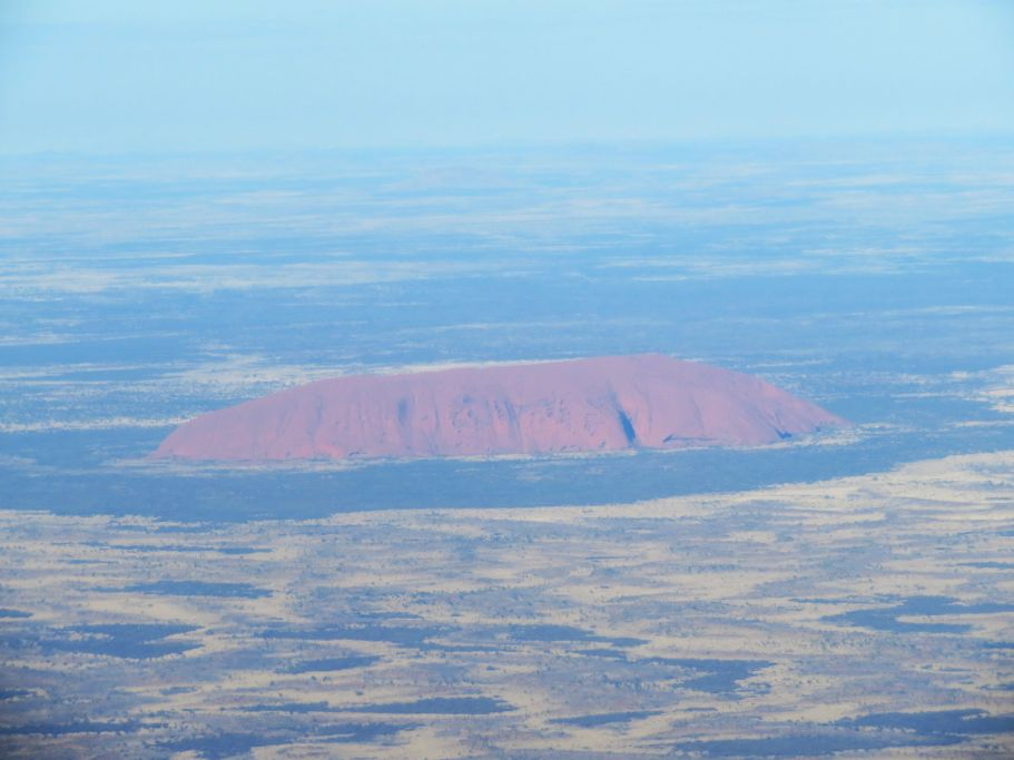 Uluru von oben