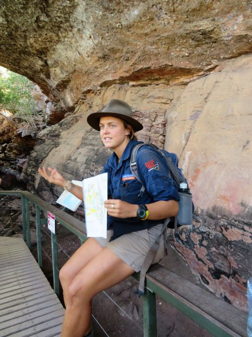 Kiwi Kate in action