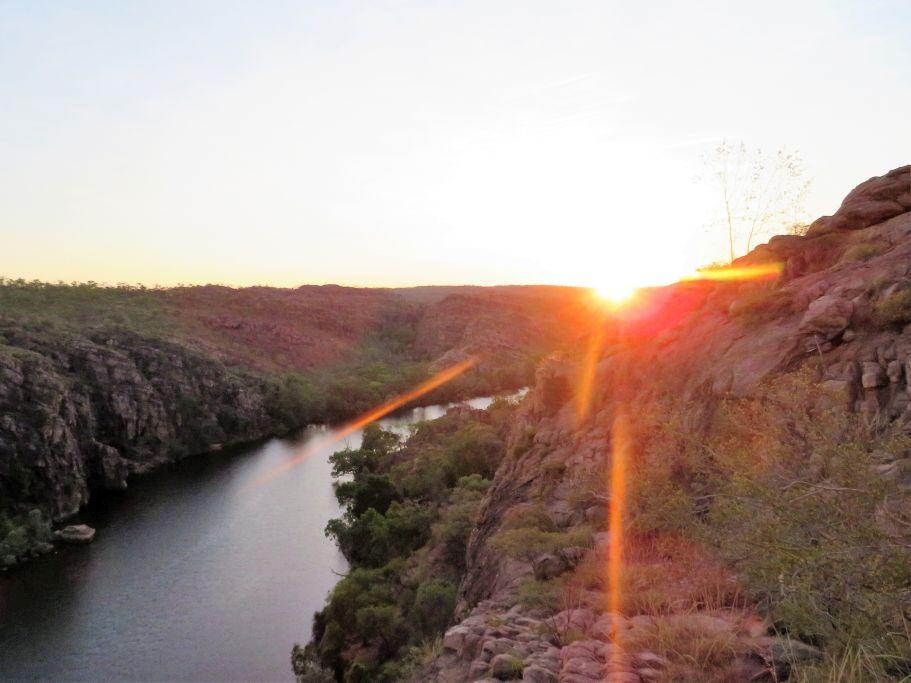 Sonnenaufgang Kathrine Gorge