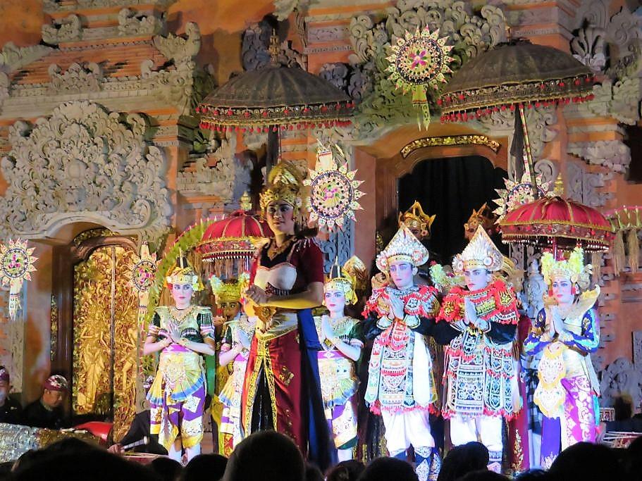 Tänzer Gruppe 3
