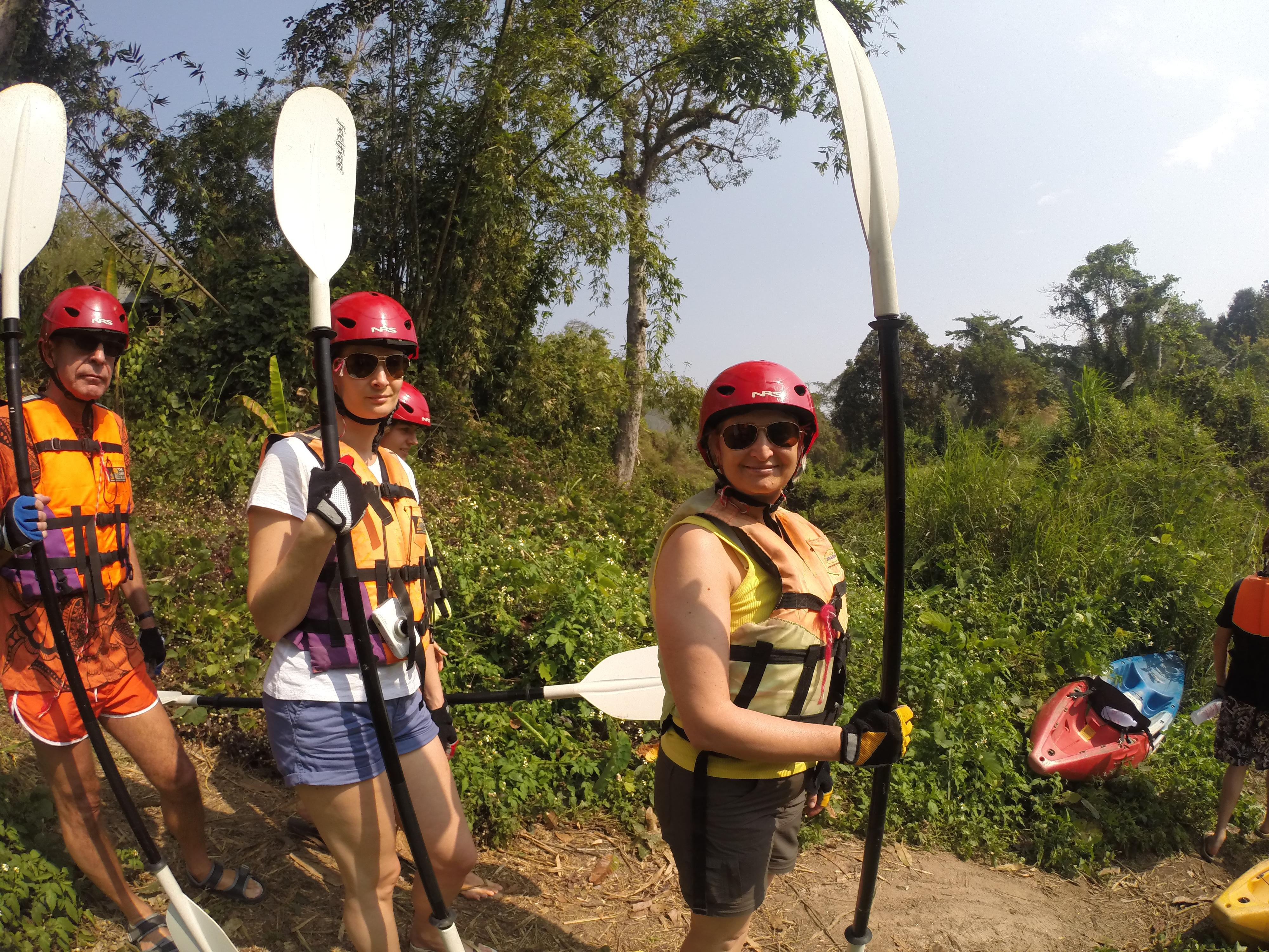Tag 11: Kayak fahren